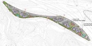 錦駿苑 於規劃署的布局圖